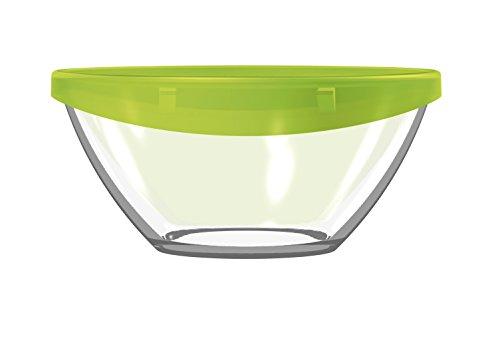 Luminarc ARC G4385 Keep ´n´ Bowl Dose mit Deckel, 4800 ml, Glas, transparent, 1 Stück