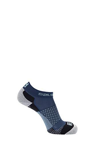 SALOMON Calcetines unisex Speedcross paquete de 2, Unisex, Calcetín, LC15529000, gris pizarra, Large