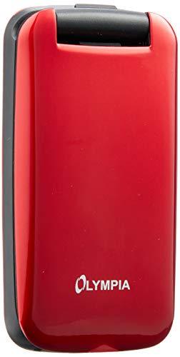 Olympia 2251 Classic Mini II Mobiltelefon-/ Seniorenhandy, rot