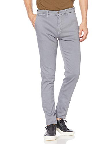 Replay Men's Slim Fit Zeumar Chino Trousers Grey in Size 36W 32L
