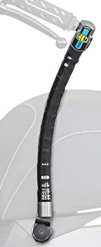 CLM 5726713 Antirrobo de Manillar Stahl con Soporte Fix para Kymco Agility 50/125Cc