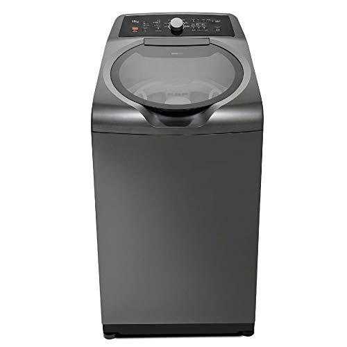 Máquina de Lavar com Dois Cestos Brastemp 15kg Grafite Metálico com Ciclo Edredom - BWD15A9 220V