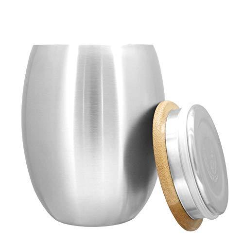 ECOtanka Cup mit Deckel - 350ml Becher mit Keramikbeschichtung für heiße Getränke - Thermobecher zum Verschliessen
