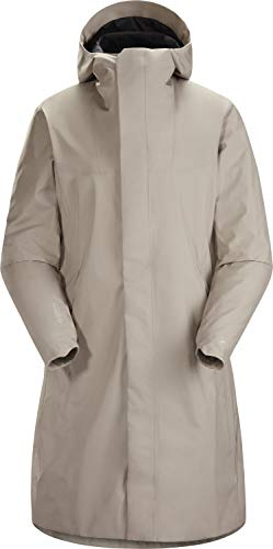 Arc'teryx Damen Women's Solano Coat Mantel Grau/Beige XL