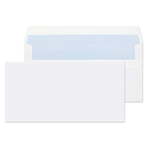 Purely Everyday Briefumschläge, DL, 110 x 220 mm, 80 g/m², selbstklebend, Weiß, 1.000 Stück (Herstellergröße : DL 110x220)