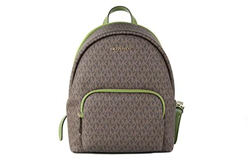 Michael Kors Erin Medium Convertible Backpack (Evergreen Brown)