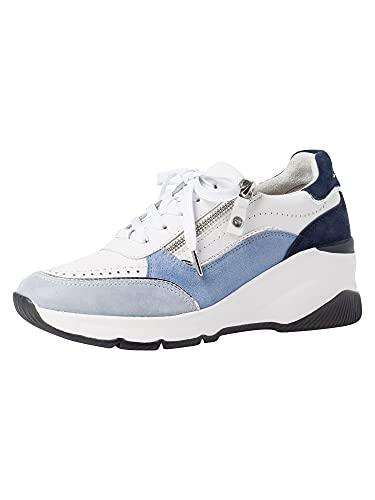 Tamaris PureRelax Damen Sneaker 1-1-23720-26 861 blau normal Größe: 39 EU