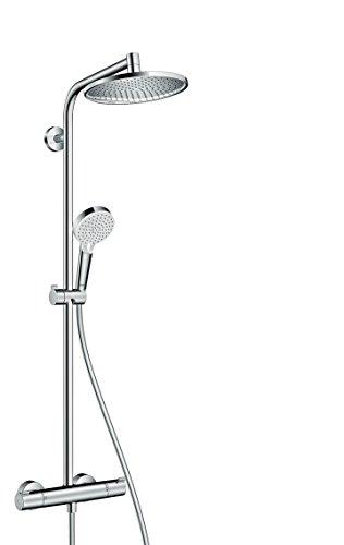 hansgrohe Crometta S 240 wassersparendes Duschsystem, 2 Strahlarten, Chrom