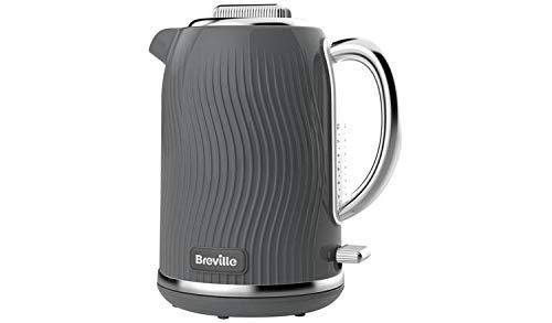 Breville VKT092 - Hervidor de agua con iluminacion de rio, color gris