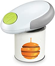 Electric Can Opener, Safety Can Opener Smooth Edge, A button to Open Your Cans, No Sharp Edge, Food-Safe, Battery Operated, Mini Can Opener Electric Kitchen for Housewives, Seniors, Arthritics