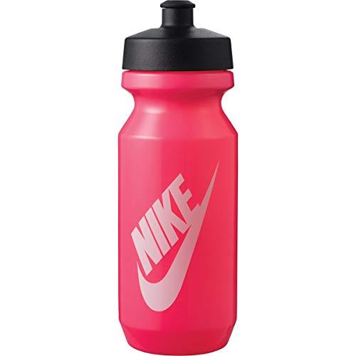 Nike Big Mouth Bottle 2.0 - Botella (650 ml), color rosa, negro y blanco