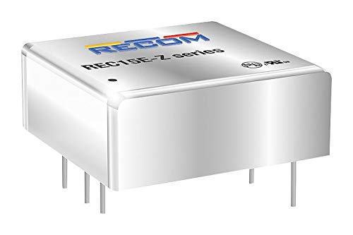 RECOM POWER - REC15E-2412DZ - DC-DC Converter, 2 O/P, 15W