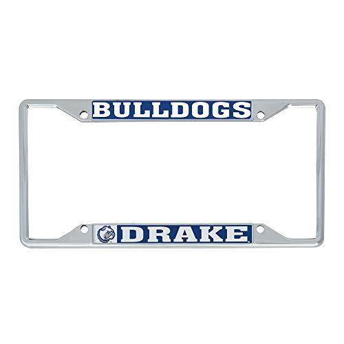 Desert Cactus Drake University Bulldogs NCAA Metal License Plate Frame for Front Back of Car Officially Licensed (Mascot)