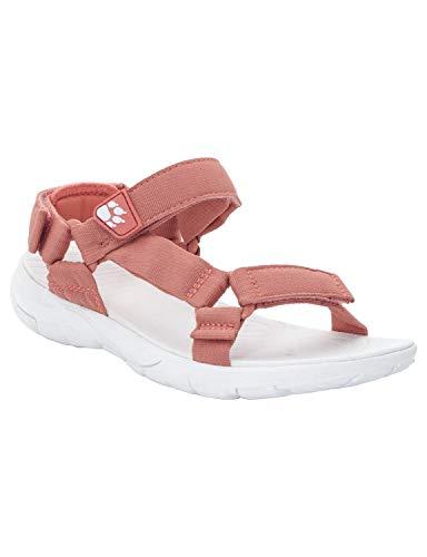 Jack Wolfskin Damen Seven Seas 2, Sport Sandalen, Pink (Rose Quartz 2131), 40.5 EU (7 UK)