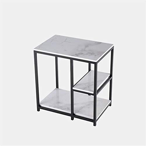 Gehumaniseerd ontwerp Office Coffee Table, Multi-layer Marble Coffee Table Parlor Hotel Lounge By The Sofa Telephone Table gemakkelijk schoon te maken Glad aanrecht (Color : C, Size : 60 * 40 * 65CM)