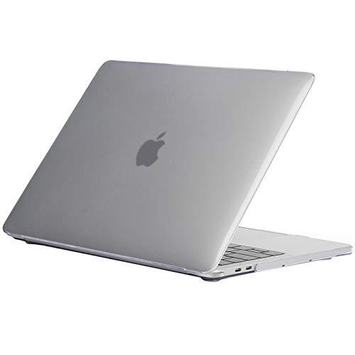 ProCase Carcasa Rígida para MacBook Pro 16' 2019, Funda Dura Ultra Delgada con Revestimiento Engomado para MacBook Pro 16 Pulgadas Modelo A2141 –Transparente