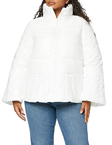 Armani Exchange Turtle Neck Zip Coat Chaqueta Bomber, (Martini 1107), Medium para Mujer