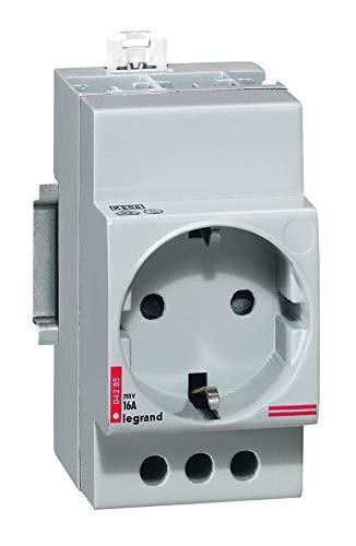 Legrand by Grenda-hammer Distribuidor diferencial FILS Interruptor de protección de línea transformador, carril de peine (enchufe)