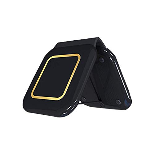Base de cargador inalámbrico magnético rápido plegable 2 en 1 para Iphone 12 Mini Pro Max iWatch AirPods, soporte para teléfono de escritorio, compatible con la estación de carga inalámbrica QI