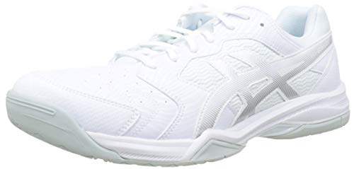 Asics Gel-Dedicate 6, Zapatillas de Tenis Hombre, Blanco (White/Silver 101), 41.5 EU