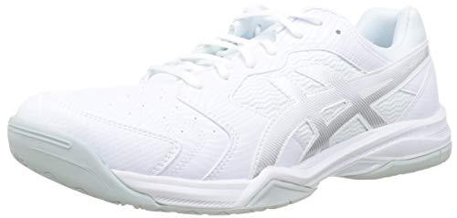 Asics Gel-Dedicate 6, Zapatillas de Tenis para Hombre, Blanco (White/Silver 101), 41.5 EU