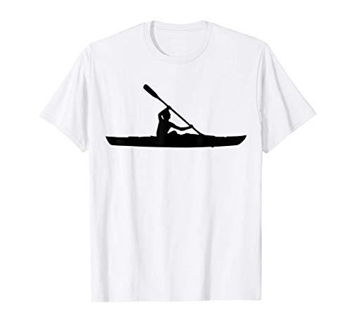 Rudern Kajak Sport Kanufahren Paddeln Kanu Kayak Faltboot T-Shirt