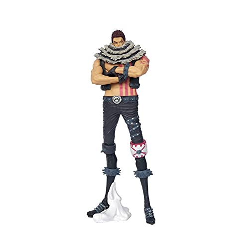 UNILIFE Figura de Acción de One Piece Estatua de Charlotte Katakuri Figuras Coleccionables Figuras de Juguete Personaje de Anime 25 cm