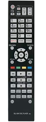 ALLIMITY N2QAYA000128 Fernbedienung Ersetzt für Panasonic Blue-Ray Disc Player DMP-UB900 DMP-UB900GN DMP-UB900GNK DMP-BDT700