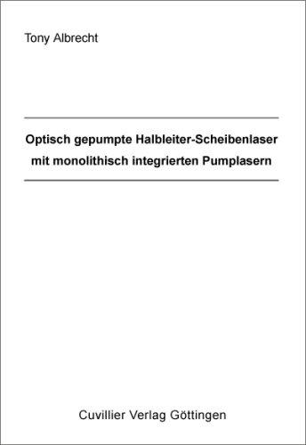 Optisch gepumpte Halbleiter-Scheibenlaser mit monolithisch integrierten Pumplasern