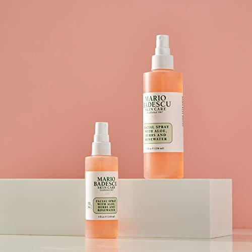 Spray pour le Visage à l'Aloe, aux Herbes et à l'Eau de Rose Mario Badescu - 5