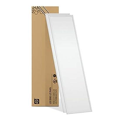 ASD LED Dimmable Edge-Lit Flat Panel 1x4 3500/4000k/5000k 1-pack/4-pack