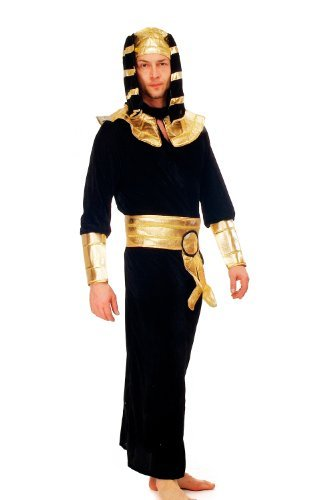 DRESS ME UP like an Egyptian! Costume homme pharaon égyptien Ramses momie Antiquité K47 Taille 52, L