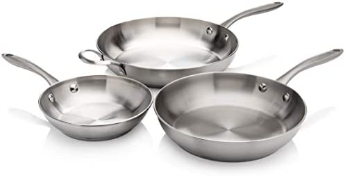 Frigidaire 11FFSPAN15 Ready Cook Cookware 3 piece Stainless Steel 3 Pieces product image