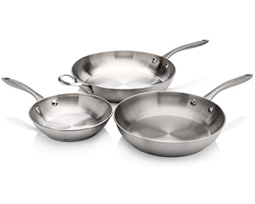 Frigidaire 11FFSPAN15 Ready Cook Cookware, 3-piece, Stainless Steel, 3 Pieces