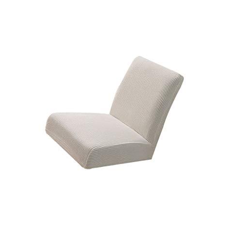 B Blesiya Spandex Stretch Stuhl Hocker Hussen Bezug Stuhlabdeckung für Barhocker - Weiß