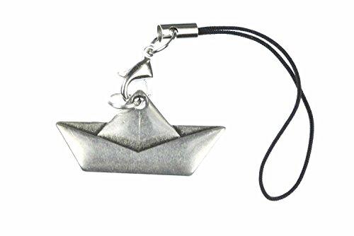 Miniblings velero Barco de Papel Barco de la Nave Handyanhänger Handyschmuck Origami