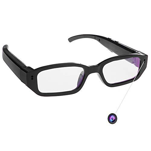 Mofek, versteckter Mini-DV-Brillen-Camcorder, 8GB 1920x 1080P HD, Video-Kamera für Sport und zum Spionieren