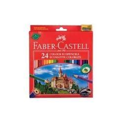 Faber-Castell 120124 - Lápiz de color (Multicolor, Multi, Hexagonal, Madera, Caja de cartón)
