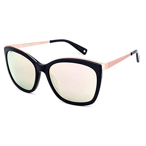 BRENDEL 906115-10-2340 Gafas, oro rosa-negro/espejo rosa verde amarillo, 55/15/140 para Mujer
