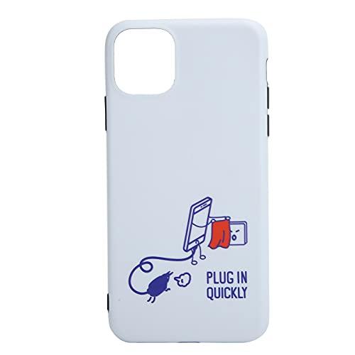 Surebuy Cubierta del teléfono móvil, Fidget Toy Shell del teléfono móvil Reforzado en Cuatro Esquinas con Material de TPU 11 Pro/para 11(iphone11)
