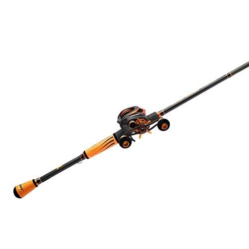 "Lew's Fishing Mach Crush Speed Spool SLP Combo, Baitcast Combo, Baitcasting Reel, Fishing Reel and Fishing Rod, Fishing Gear and Equipment, Fishing Accessories (MC1SH73H), 7'3"""