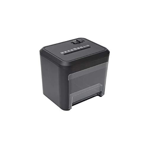 ZLDQBH Mini trituradora de Papel-Cross-Cut Trituradora de Papel, 4 Minutos de...