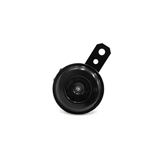 SPOTEST Universal Motorcycle Scooter Electric Horns 12V 1.5A 105db Waterproof Round Loud Horn Speakers