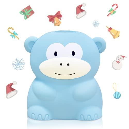 MOMMED Cyfrowa skarbonka, skarbonka moneta bankowa z wyświetlaczem LCD, skarbonka automatyczna licznik monet dla dzieci dorosłych chłopców dziewcząt jako prezent na Boże Narodzenie, urodziny i Nowy Rok