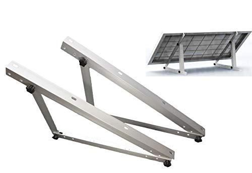 2x Vario Dreieck Alu eloxial Aufständerung Solar 30° Module bis 70cm Caravan PV