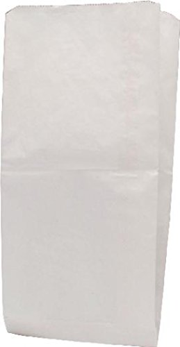 Buy Cheap Dempson 201128 Paper Bag, 34 g, 228 x 152 x 317 mm - White, Pack of 1000