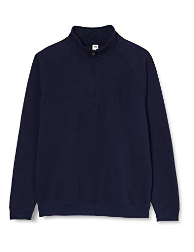 Fruit of the Loom Ss108m Sudadera, Azul (Deep Navy), XX-Large (Talla del Fabricante: XX-Large) para Hombre
