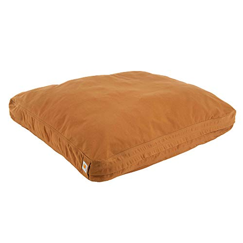 Carhartt Durable Canvas Dog Bed, Premium Pet Bed with Water-Repellent Coating, Small, Carhartt Brown