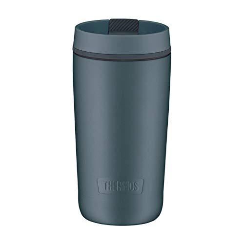 Thermos Guardian Line Isolier-Trinkbecher 350 ml Lake Blue | Doppelwandiger Edelstahl, einfaches Handling, perfekte Größe | Absolut dicht und auslaufsicher [18/8 Edelstahl, Polypropylen, Silikon]