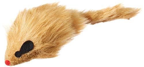 Arquivet Ratón peludo - juguete gatos - 10 cm